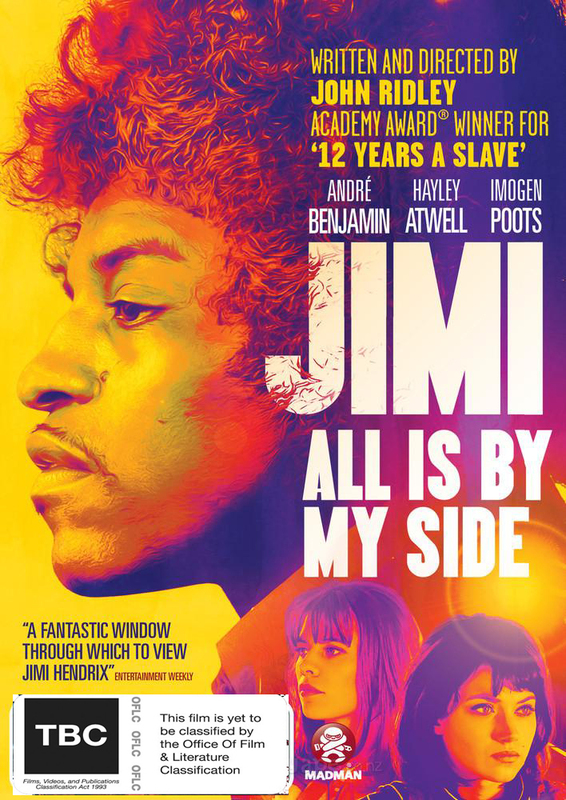 Jimi: All Is by My Side on DVD