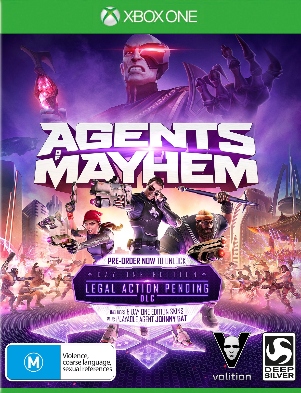 Agents of Mayhem Day 1 Edition for Xbox One image