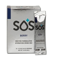 SOS Rehydrate - Berry (10 Serve)