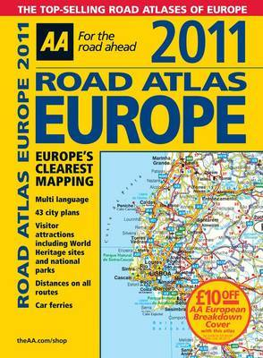 AA Road Atlas Europe: 2011