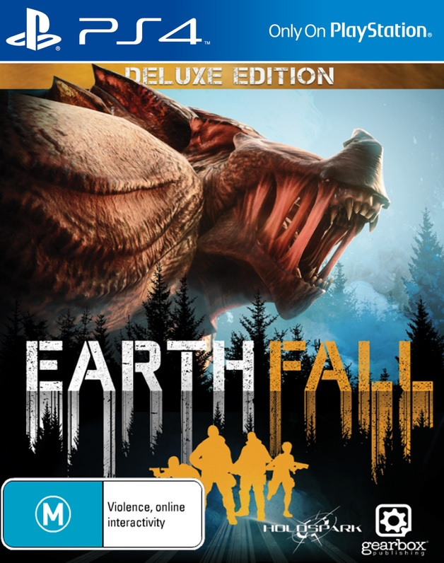 Earthfall Deluxe Edition for PS4