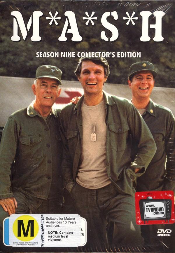 MASH - Complete Season 9 (3 Disc) on DVD image