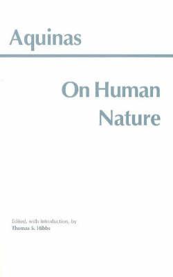 On Human Nature by Thomas Aquinas image