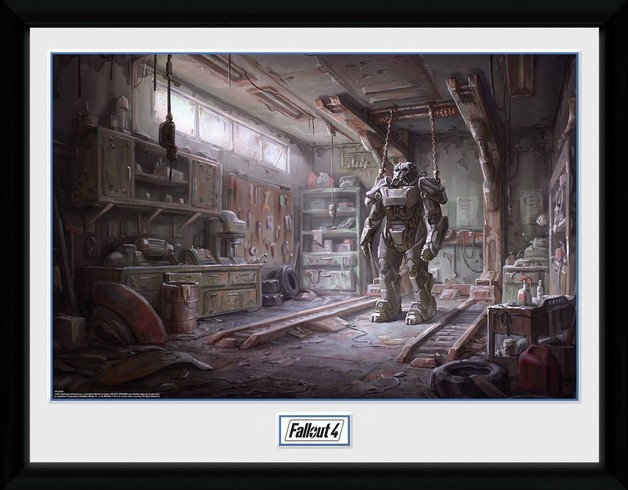 Fallout 4: Red Rocket Interior - Collector Print (41x30.5cm)