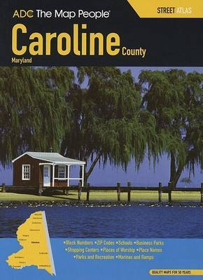Caroline County Maryland Street Atlas image
