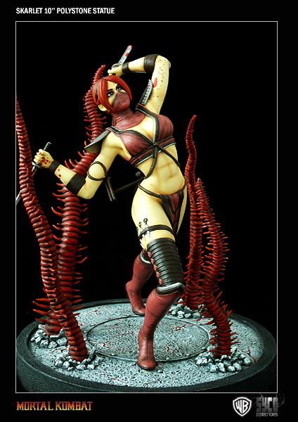 Mortal Kombat Skarlet Statue At Mighty Ape Nz