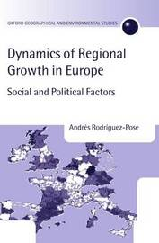 Dynamics of Regional Growth in Europe by Andres Rodriguez-Pose image