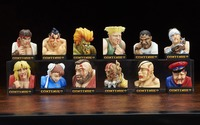 Street Fighter II Trading Figure Defeated Face Collection (Blind Box)