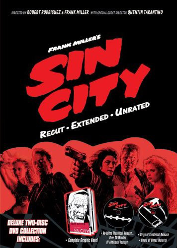 Sin City - Recut and Extended (2 Disc Set) on DVD image