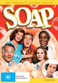 Soap (Season 2) on DVD