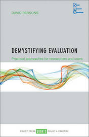 Demystifying evaluation by David Parsons image