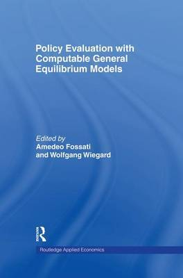 Policy Evaluation with Computable General Equilibrium Models image