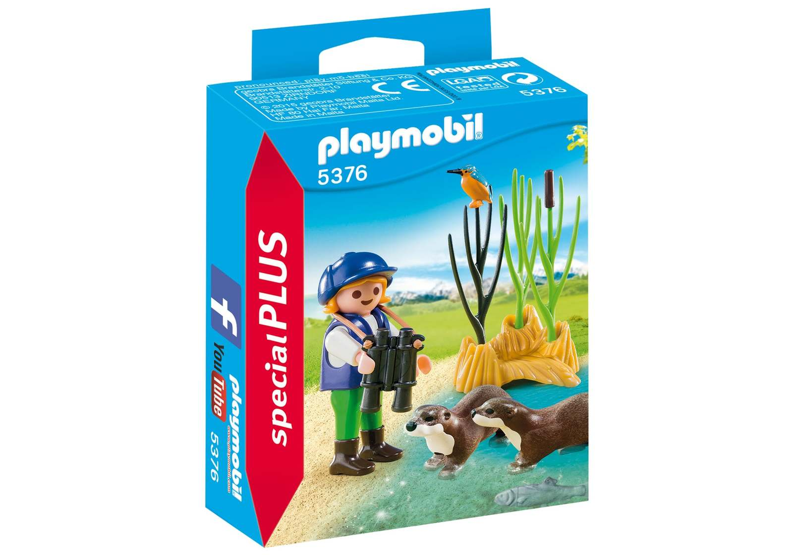 Playmobil: Special Plus - Young Explorer with Otters image