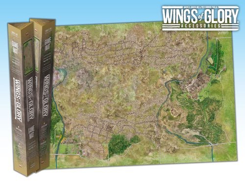 Wings of Glory Game Mat: Normans Land
