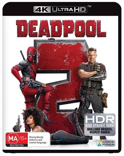 Deadpool 2 on UHD Blu-ray image