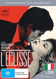 L'eclisse on DVD