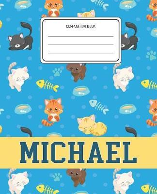 Composition Book Michael by Cats Composition Books