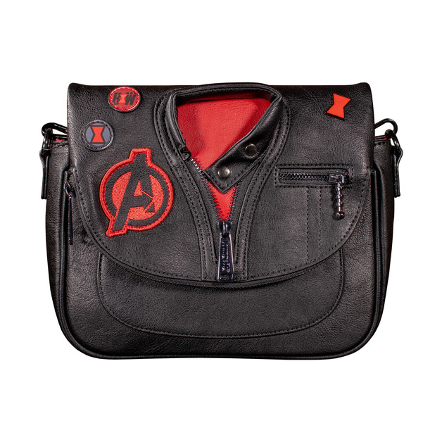 Loungefly: Marvel Black Widow Crossbody Bag