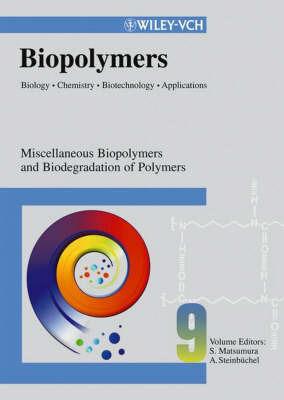 Biopolymers: v. 9