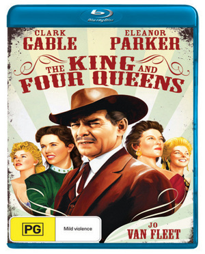 King And Four Queens on Blu-ray