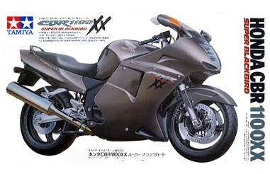 "Tamiya Honda CBR 1100XX ""Super Black Bird"" 1:12 Kitset Model"
