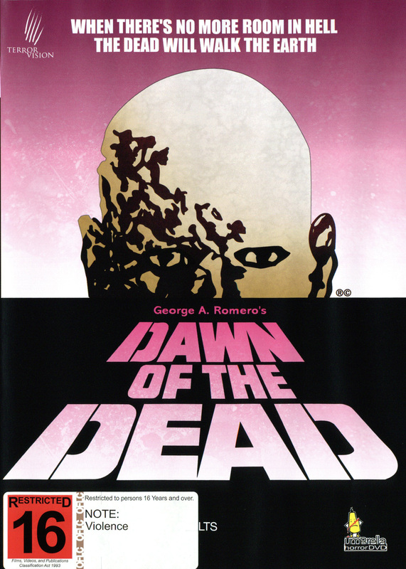 Dawn Of The Dead (1978) on DVD