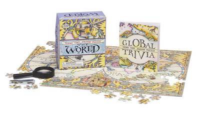 Teeny Tiny Jigsaw Puzzle: The World by Rebecca McCarthy