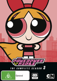 Powerpuff Girls Classic - The Complete Series 3 on DVD