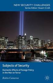 Subjects of Security by Robin Cameron image