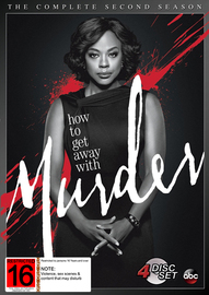 How To Get Away With Murder - The Complete Second Season on DVD image