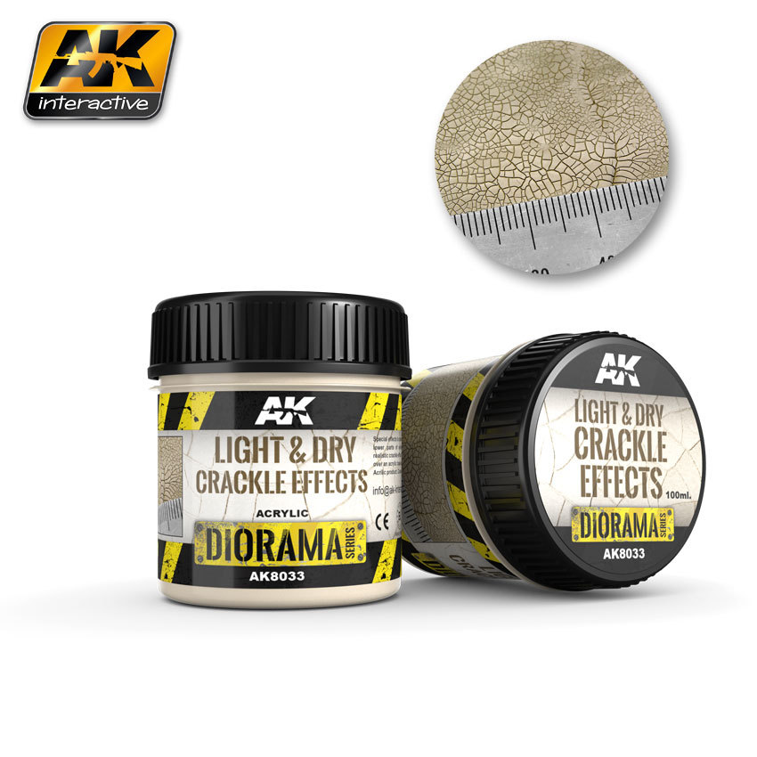 AK Crackle Effects Light & Dry (100ml) image