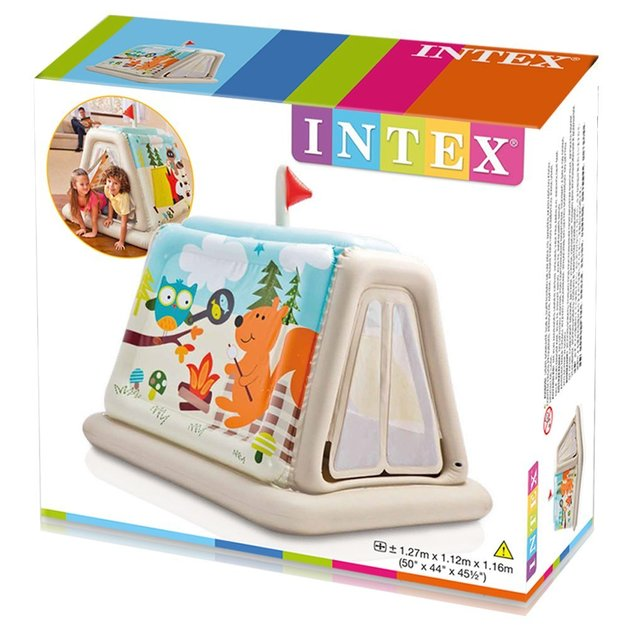 Intex Animal Trails - Indoor Play Tent  sc 1 st  Mighty Ape & Intex: Animal Trails - Indoor Play Tent | Toy | at Mighty Ape NZ