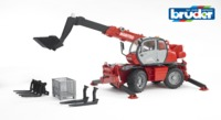 Bruder: Manitou Telescopic Forklift - with Accessories
