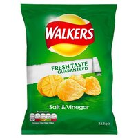 Walkers Salt & Vinegar Crisps (32.5g)
