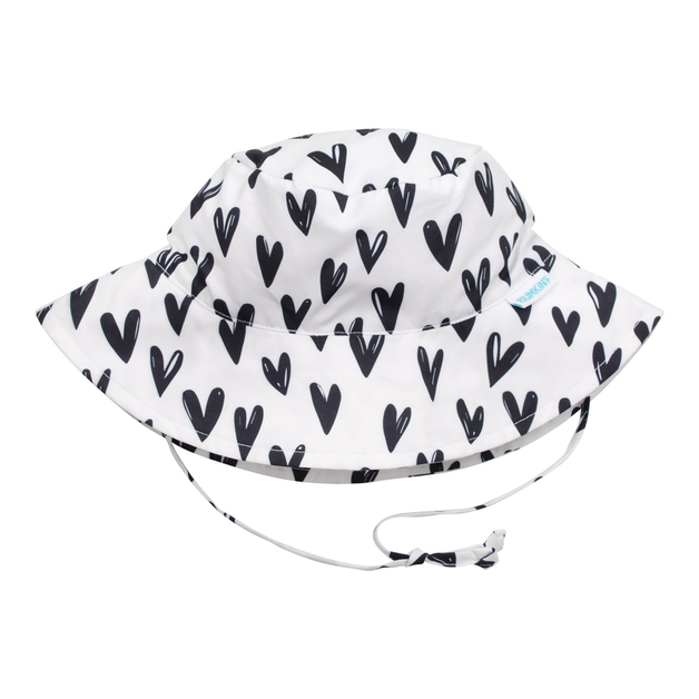 Bumkins: Sun Hat - Hearts/Small