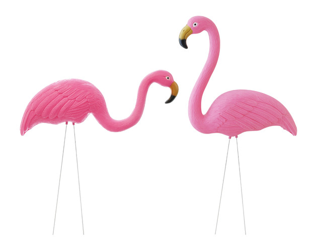 Planted Flamingo (Set of 2)