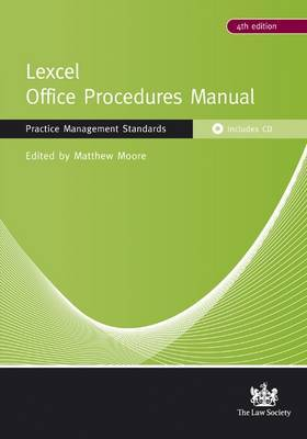 Lexcel Office Procedures Manual by Matthew Moore image