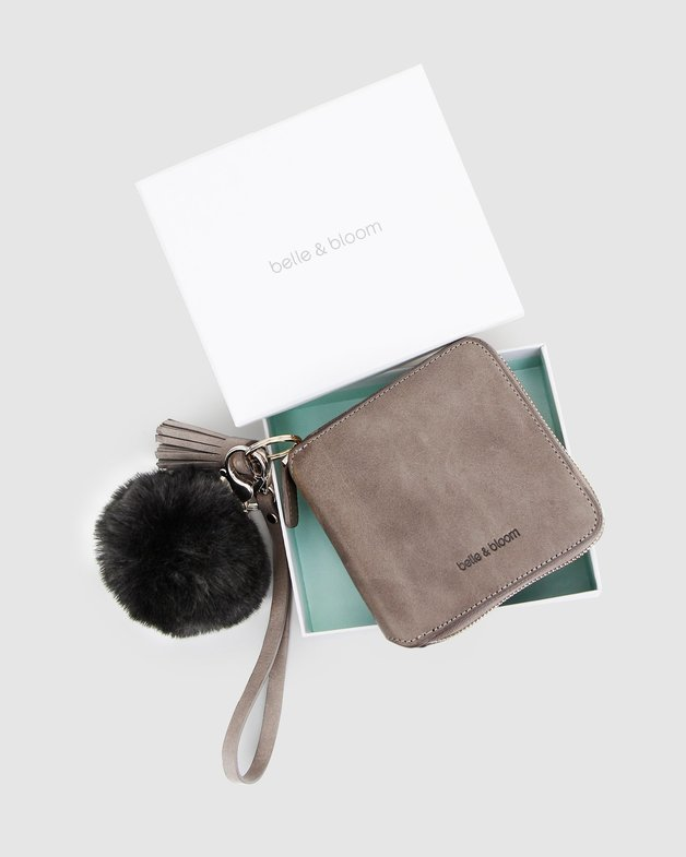Belle and Bloom: Nora Gift Pack + Fur Keychain - Ash/Black