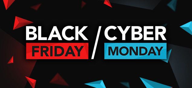 BLACK FRIDAY CYBER MONDAY SALE!