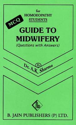 Guide to Midwifery by A.K. Sharma image