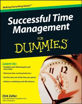 Successful Time Management For Dummies by Dirk Zeller image