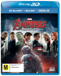 The Avengers: Age of Ultron on Blu-ray, 3D Blu-ray