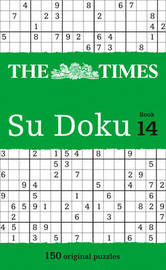 The Times Su Doku Book 14 by The Times Mind Games