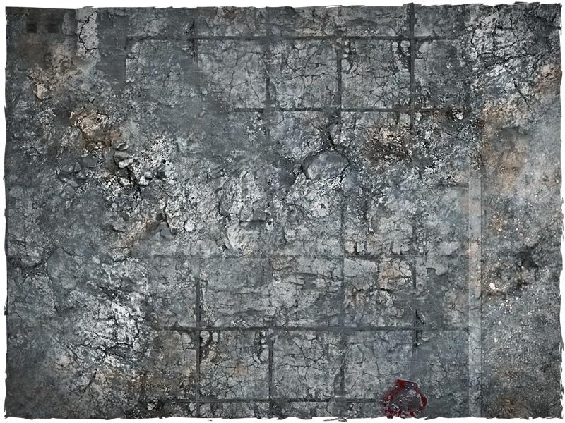 DeepCut Studio City Ruins Neoprene Mat (6x4) image