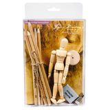 Jasart Mini Figure Drawing Set