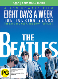 The Beatles: Eight Days a Week - The Touring Years (Deluxe DigiBook Edition) DVD