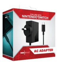 Powerwave Nintendo Switch AC Adaptor for Nintendo Switch