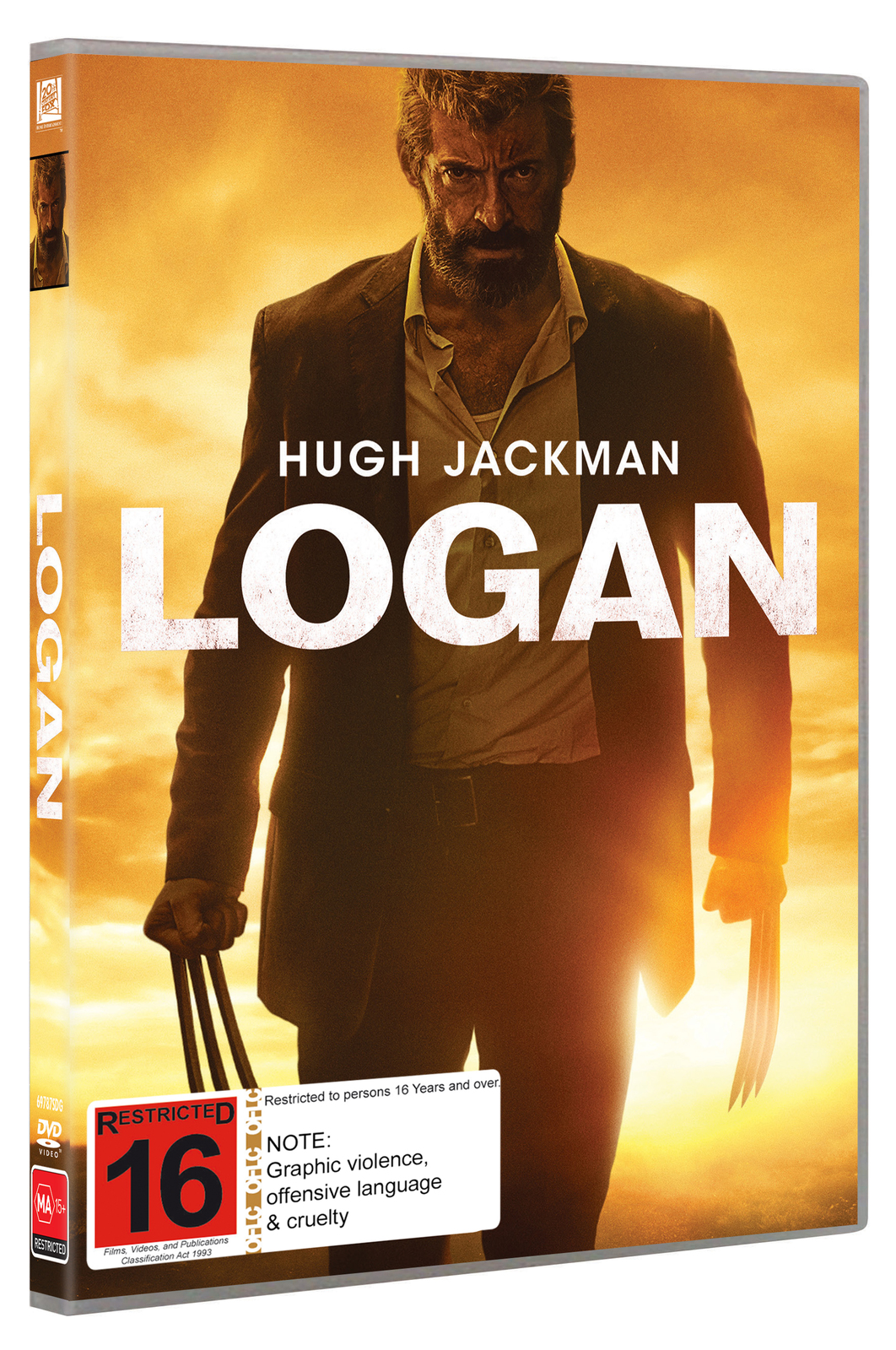 Logan on DVD image
