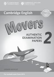 Cambridge English Young Learners 2 for Revised Exam from 2018 Movers Answer Booklet image