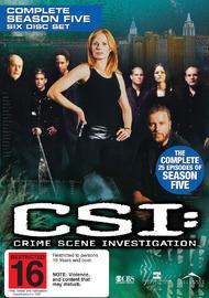 CSI - Las Vegas: Complete Season 5 on DVD image